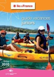 guide vacances juniors - Visit zone-secure.net