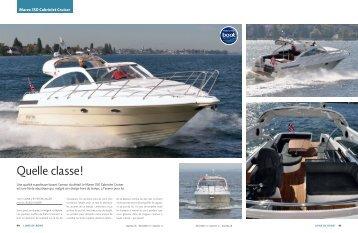 Marex 350 Cabriolet Cruiser - marina.ch