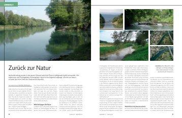 Zurück zur Natur - marina.ch - das nautische Magazin der Schweiz