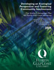 QEP - Academic and Event Technology Services - Florida Gulf ...