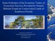 Some Estimates of the Economic Value of Ecosystem Services ...