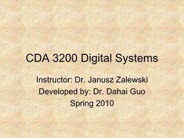 CDA 3200 Digital Systems