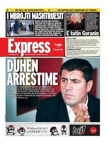 I MBROJTI MASHTRUESIT - Gazeta Express