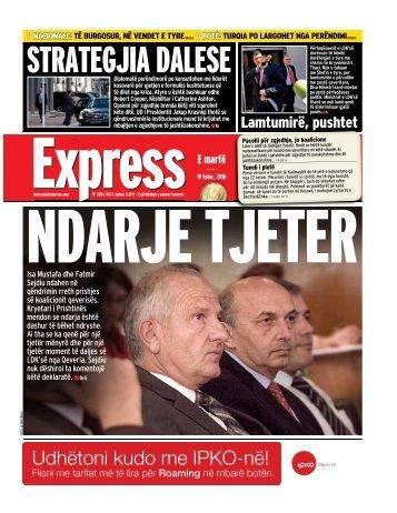 STRATEGJIA DALESE - Gazeta Express