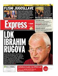 FLISNI JUGOSLLAVE - Gazeta Express
