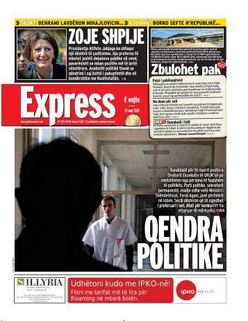 ZOJE SHPIJE - Gazeta Express