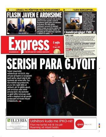 FLASIN JAVEN E ARDHSHME - Gazeta Express
