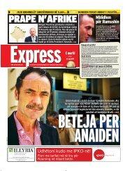 PRAPE N'AFRIKE - Gazeta Express