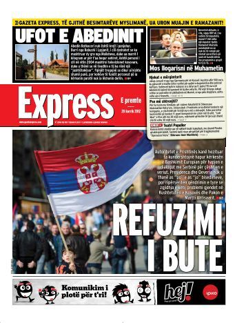 UFOT E ABEDINIT - Gazeta Express