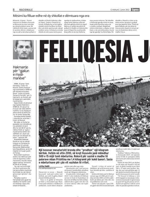 SHESIM LETRA - Gazeta Express