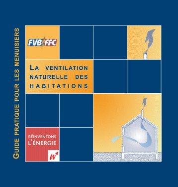 La ventilation naturelle des habitations - Energie Wallonie