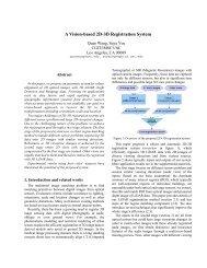 A Vision-based 2D-3D Registration System - IMSC Computer ...