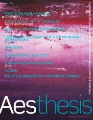 International Journal of Art and Aesthetics in ... - DigitalFilm Tree