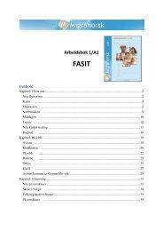 Arbeidsbok 1/A1 FASIT