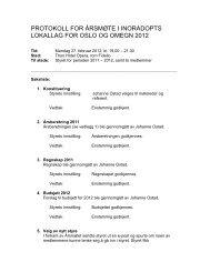 protokoll for årsmøte i inoradopts lokallag for oslo og omegn 2012