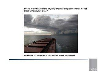 Erlend Torsen NRP Finans - Bulkforum