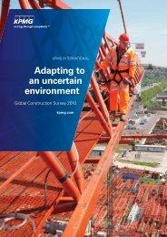 Adapting to an uncertain environment - KPMG