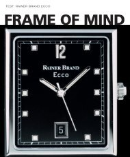WT_2002_05: TEST: RAINER BRAND ECCO - Watchuseek, World's Most ...