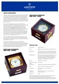 Catalogue WEMPE Marine clock - Ship's time systems 2010-2011 ... - Page 4