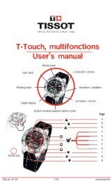 T-Touch, multifonctions User's manual - Abt