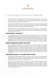 A world first in time zone watches - Watchuseek, World's Most ...