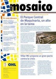 El Parque Central de Maquinaria, un alto en la tarea - Ohl