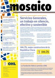 Servicios Generales, un trabajo en silencio, efectivo y sostenible - Ohl