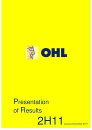 Presentation of Results - ACM2 . Avalora Content Manager - Ohl