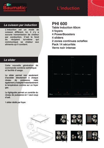 L'induction PHI 600