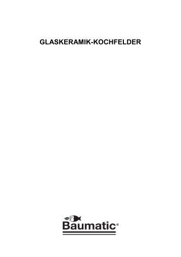GLASKERAMIK-KOCHFELDER