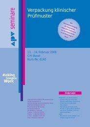Making Science Work - APV