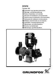 DMM Variant AR - Grundfos