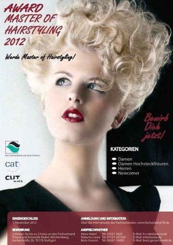 Award Master of Hairstyling 2012 - Fachverband Friseur und ...