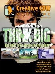 Thinking big? - Creative COW Magazine