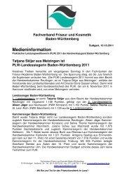 medieninformation_plw2011.pdf - Fachverband Friseur und ...