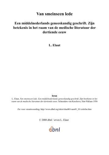 bekijk - digitale bibliotheek voor de Nederlandse letteren