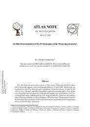 ATLAS NOTE