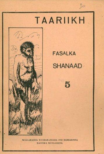 Page 1 , H FASALKA J,WAS/M'dlADDÀ WAXBARASHADA lYO ...