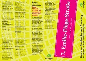Neubauer Straßenplan zum Frauentag - Die Grünen