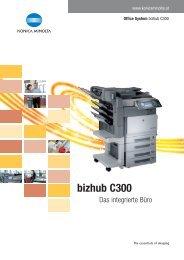 bizhub C300 - Easy Informations