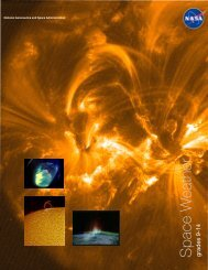 Space Weather - Center for Science Education - University of ...