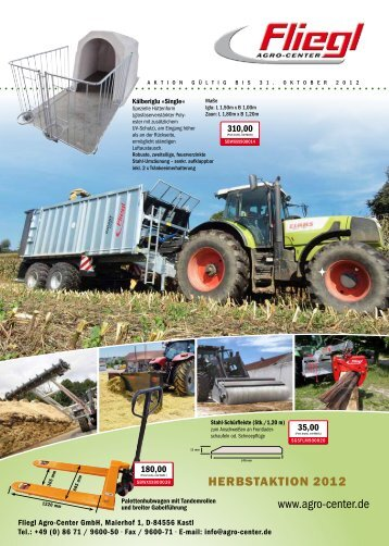 Silokralle 2250 mm - Fliegl Agro-Center