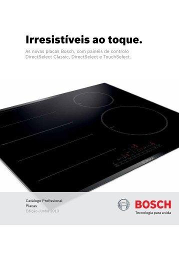 Catálogo Placas - Bosch