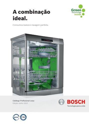 Catálogo Loiça - Bosch