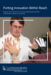 Download the IFR Brochure - Case Western Reserve University ...