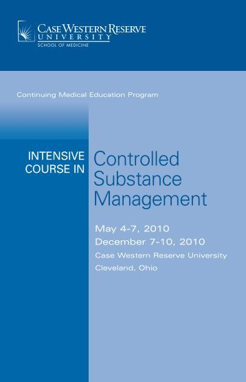 Controlled Substance Management - Case Western Reserve ...