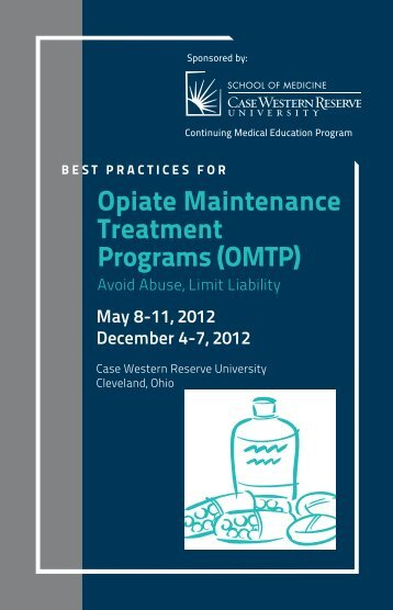 Opiate Maintenance Treatment Programs - Case Western Reserve ...