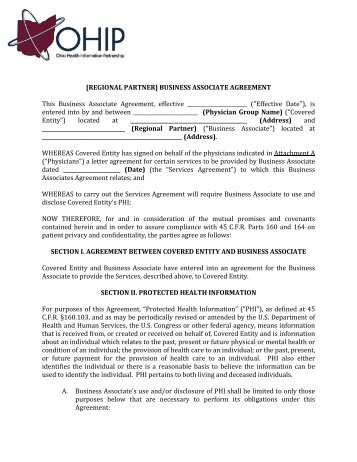 Appendix 8: Business Associate Agreement Terms: Purchase