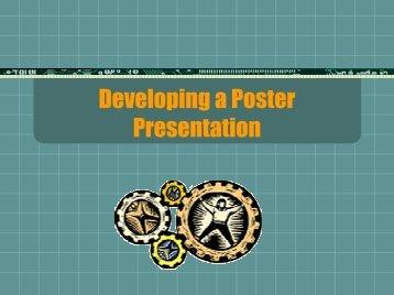Developing a Poster Presentation By Casey Flinn George Mason ...