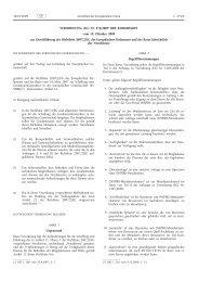 Verordnung (EG) Nr. 976/2009 der Kommission vom 19 ... - EUR-Lex